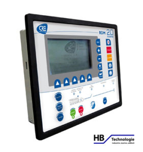 RDM2.0 MARINE Remote display module for all-in-one genset control and paralleling unit Image