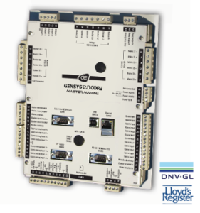 GENSYS2.0 CORE MASTER MARINE shore connection & bus tie breaker controller Image
